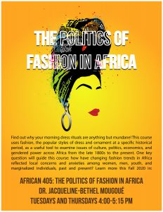 The Politics of Fashion in Africa