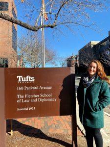 Caitlin Flynn, Tufts University