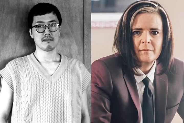 Kang Seung Lee and Professor Jill Casid