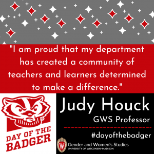 Day of the Badger faculty quote